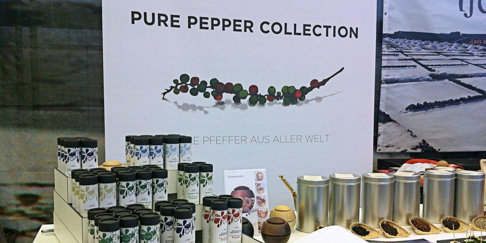 Der Stand von Pure Pepper auf dem Heldenmarkt in Berlin