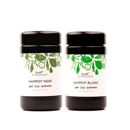 Kampot Noir und Kampot Blanc